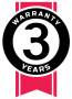 3year Petroarmour warranty